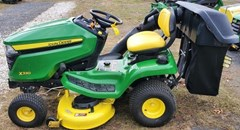 Riding Mower For Sale:  2018 John Deere X330 , 22 HP