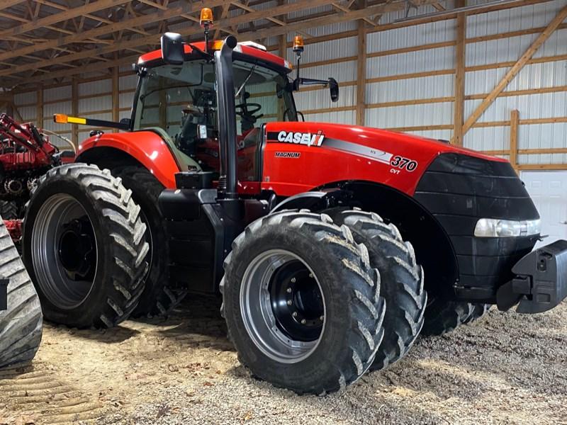 2014 Case IH Magnum 370 CVT Tractor - Row Crop For Sale