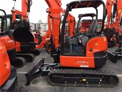 Excavator-Mini For Sale 2014 Kubota U35-4