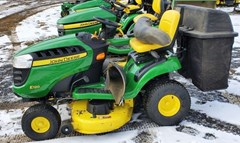 Riding Mower For Sale:  2019 John Deere E120 , 20 HP