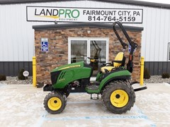 Tractor - Compact Utility For Sale 2017 John Deere 2025R , 25 HP