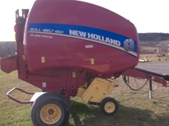 Baler-Round For Sale 2016 New Holland Rollbelt 450