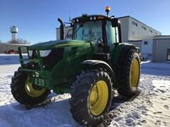 Tractor - Row Crop For Sale 2020 John Deere 6145M , 145 HP