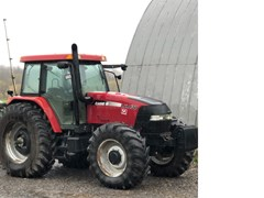 Tractor - Row Crop For Sale 2004 Case IH MXM130 , 105 HP