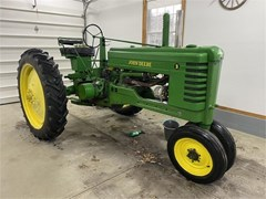 Tractor For Sale 1952 John Deere B , 17 HP