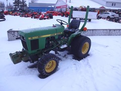 Tractor - Compact Utility For Sale 1986 John Deere 650 , 16 HP