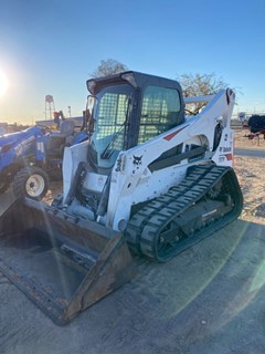 Skid Steer-Track For Sale 2014 Bobcat T870 T4