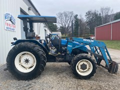 Tractor For Sale 2000 New Holland TL70 , 66 HP