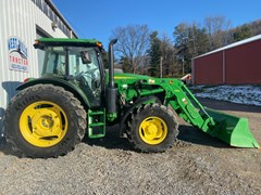 Tractor For Sale 2017 John Deere 6120E , 120 HP