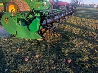 2007 John Deere 635F Header-Auger/Flex For Sale