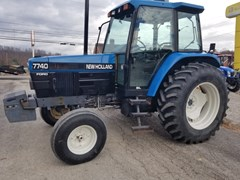Tractor For Sale 1996 New Holland 7740SL , 86 HP
