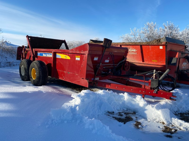 2014 New Holland 195 Manure Spreader-Dry For Sale