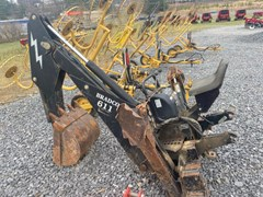 3 Point Backhoe Attachment For Sale 1998 Bradco 611