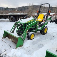 Tractor - Compact Utility For Sale:  2014 John Deere 1025R , 25 HP