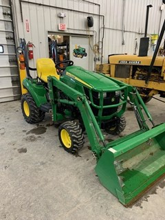 Tractor - Compact Utility For Sale 2015 John Deere 1023E , 23 HP