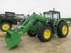 Tractor - Row Crop For Sale 2020 John Deere 6155M , 155 HP