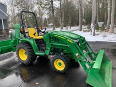 Tractor - Compact Utility For Sale:  2017 John Deere 3046R , 46 HP