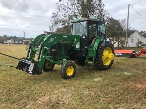 1993 John Deere 7700 Tractor - Row Crop For Sale