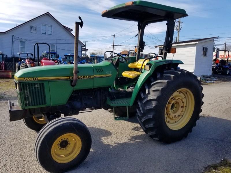 1996 John Deere 5500 Tractor For Sale