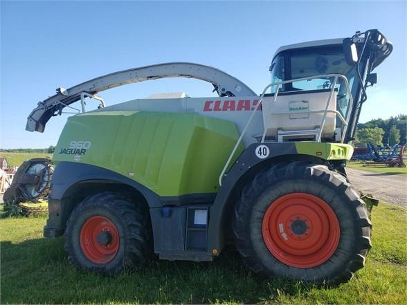 2017 CLAAS JAGUAR 960 Forage Harvester-Self Propelled For Sale