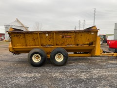 Manure Spreader-Dry/Pull Type For Sale Knight 8124