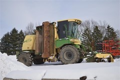 Windrower-Self Propelled For Sale 2005 Krone BIG M II