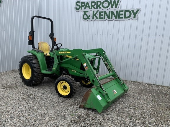 2017 John Deere 3025E Tractor - Compact Utility For Sale