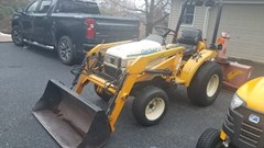 Tractor - Compact Utility For Sale 2002 Cub Cadet 7205 , 20 HP