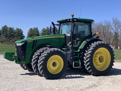 Tractor - Row Crop For Sale 2020 John Deere 8345R , 345 HP