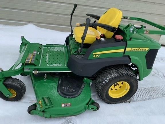 2012 John Deere 997 Zero Turn Mower For Sale