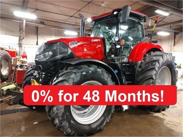 2017 Case IH OPTUM 300 CVT Tractor For Sale