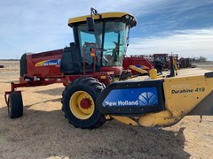 Windrower-Self Propelled For Sale 2013 New Holland H8080