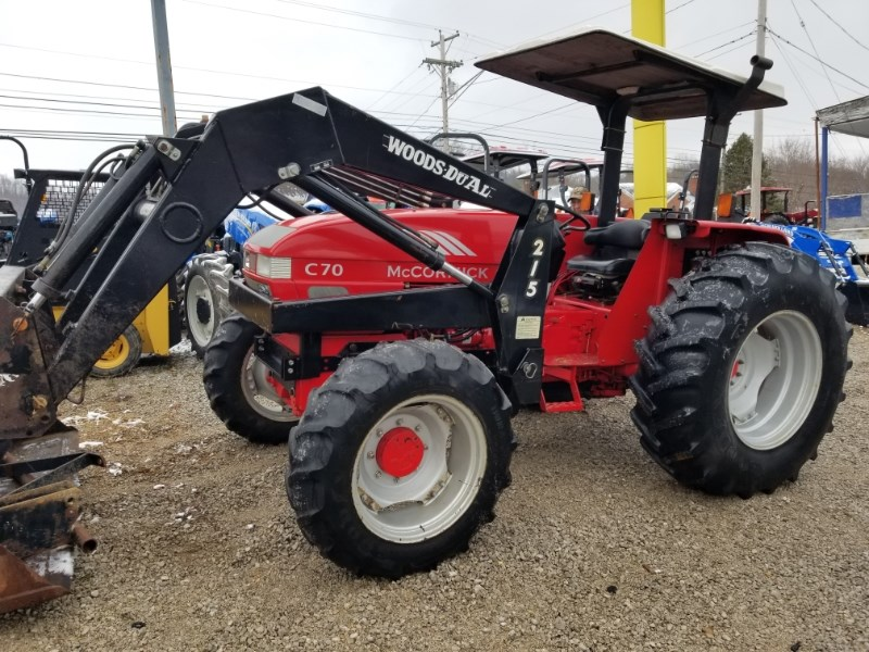 2003 McCormick C70 R4L Tractor For Sale