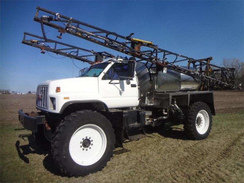 1997 Stahly  Floater/High Clearance Spreader For Sale