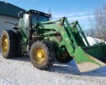 Tractor - Row Crop For Sale: 2014 John Deere 6210R, 210 HP