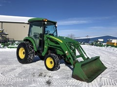 Tractor - Compact Utility For Sale 2009 John Deere 4720 , 58 HP