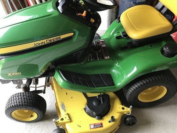 2017 John Deere X390 Riding Mower For Sale