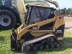 Skid Steer-Track For Sale Caterpillar 247B , 62 HP