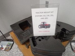 Attachments For Sale 2014 Case IH 8 FRONT WEIGHT  NARROW CARRIER