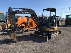 Excavator-Mini For Sale 2017 John Deere 35G