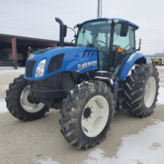 Tractor For Sale 2018 New Holland TS6.120 , 110 HP