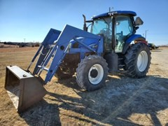 Tractor For Sale 2005 New Holland TS115A , 116 HP