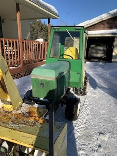 Riding Mower For Sale:  1991 John Deere 430 , 20 HP
