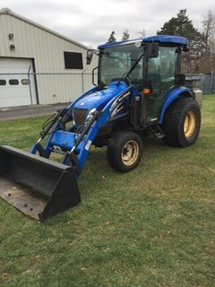 Tractor - Compact Utility For Sale 2008 New Holland TC45DA , 45 HP