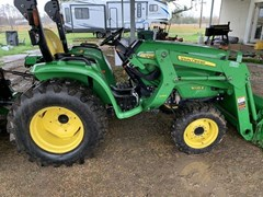 Tractor - Compact Utility For Sale 2017 John Deere 3025E , 25 HP