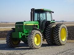 Tractor - Row Crop For Sale 1989 John Deere 4555 , 172 HP