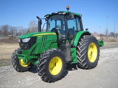 Tractor - Row Crop For Sale 2020 John Deere 6140M , 140 HP