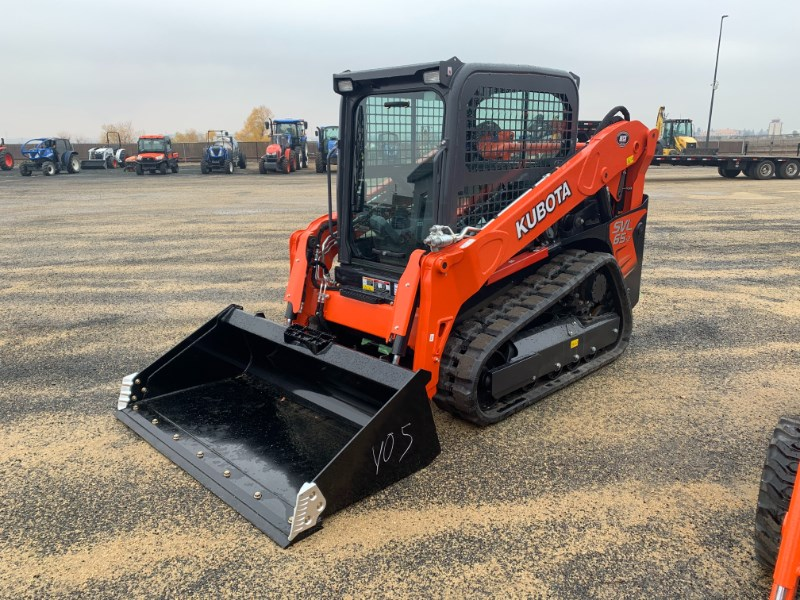 2021 Kubota SVL 65-2 Skid Steer-Track For Sale