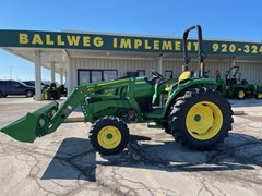 Tractor - Compact Utility For Sale 2020 John Deere 4052M , 52 HP