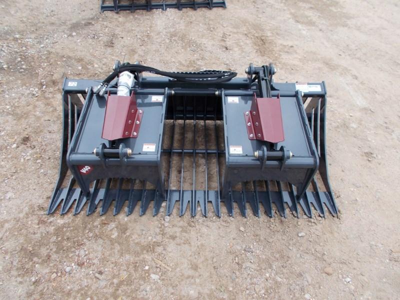 Virnig NEW Virnig V40 SKELETON ROCK GRAPPLE Skid Steer Attachment For Sale